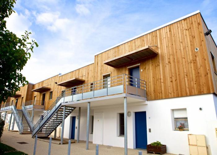 Logements collectifs La Grand' Voile Le Chateau d'Olonne Arcadial Production charpentier fabricant de bâtiments ossature bois