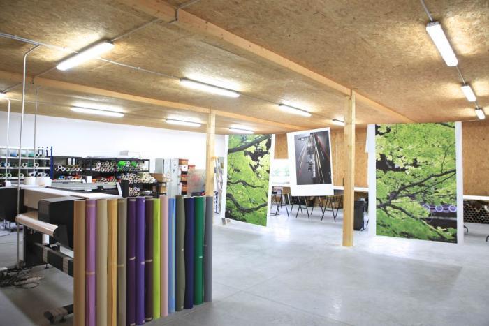 Bâtiment tertiaire bois au Poiré sur Vie Arcadial Production charpentier fabricant de bâtiments ossature bois