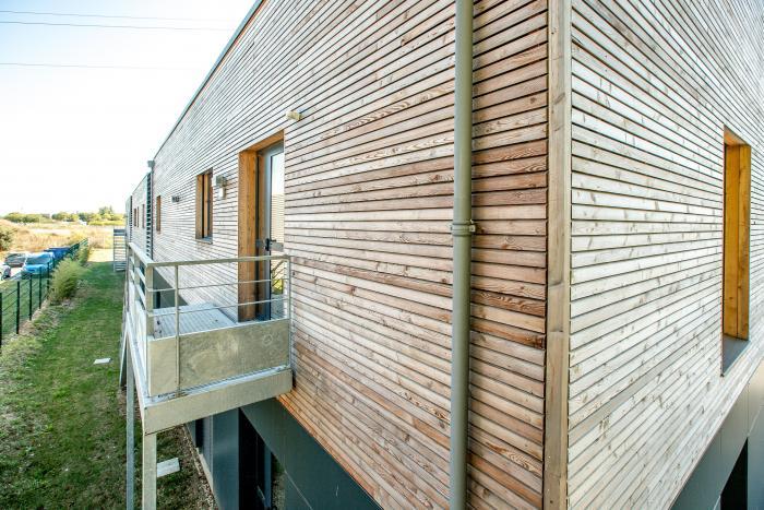Cabinet médical à La Rochelle Arcadial Production charpentier fabricant de bâtiments ossature bois
