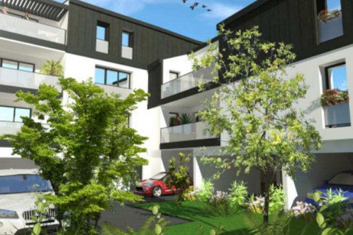 Résidence City logements collectifs 2 à La Roche Sur Yon Arcadial Production charpentier fabricant de bâtiments ossature bois