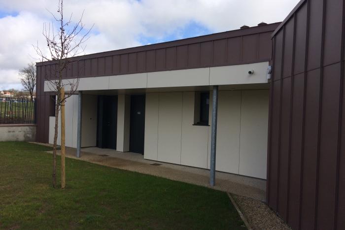 Maison relais aux Herbiers Arcadial Production charpentier fabricant de bâtiments ossature bois