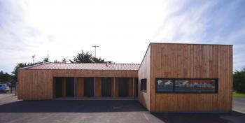 Bâtiment tertiaire bois à St Gilles Croix de Vie