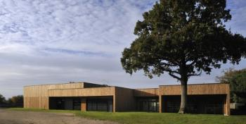 Bâtiment scolaire bois à La Roche sur Yon