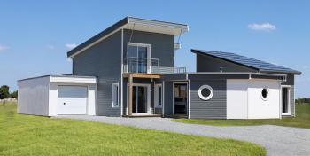 Maison bois éco-durable