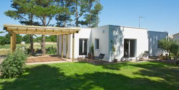 Maison bois à l'Ile d'Olonne